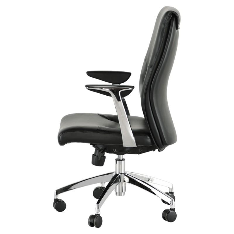 Nuevo Klause Office Chair - Black | Alchemy Fine Home