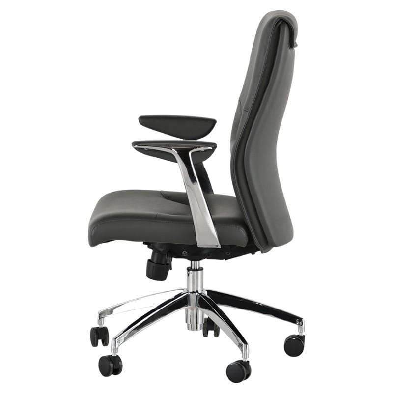 Nuevo Klause Office Chair - Grey | Alchemy Fine Home