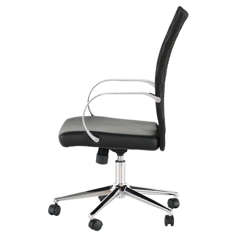 Nuevo Mia Office Chair - Black | Alchemy Fine Home
