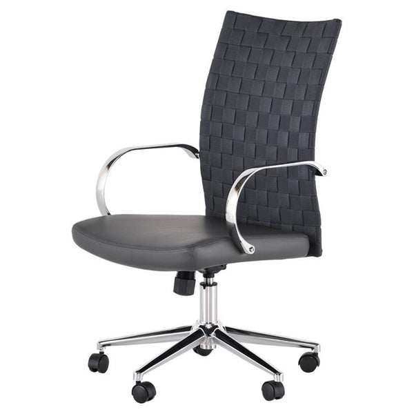Nuevo Mia Office Chair - Grey | Alchemy Fine Home
