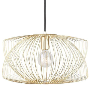 Nuevo Nuevo Helia Pendant Lighting - Gold HGMO194