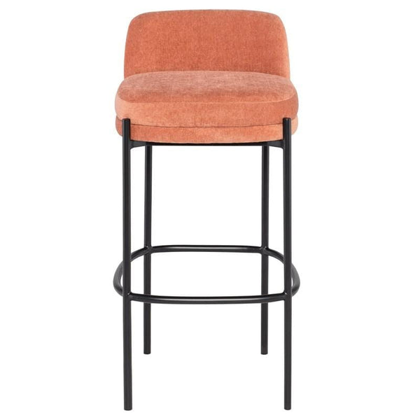 Nuevo Inna Bar Stool - Nectarine w/ Seat Top | Alchemy Fine Home