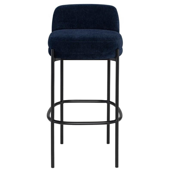 Nuevo Inna Bar Stool - Twilight w/ Seat Top | Alchemy Fine Home