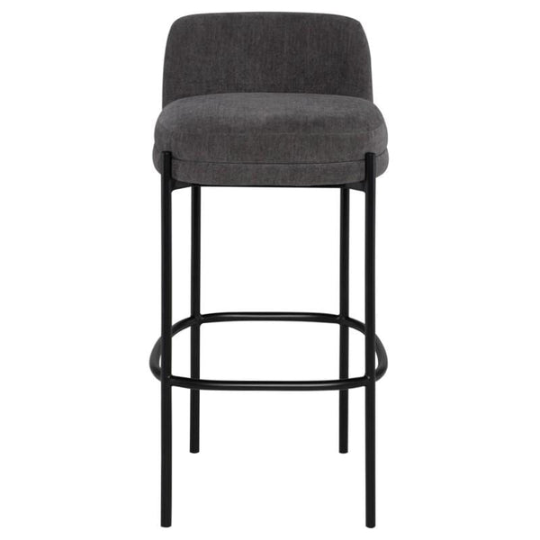 Nuevo Inna Bar Stool - Cement w/ Seat Top | Alchemy Fine Home