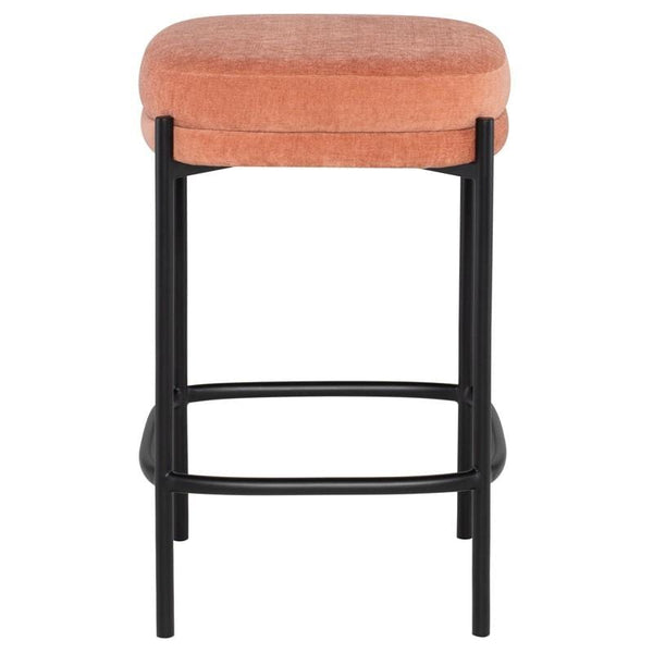 Nuevo Inna Counter Stool - Nectarine | Alchemy Fine Home