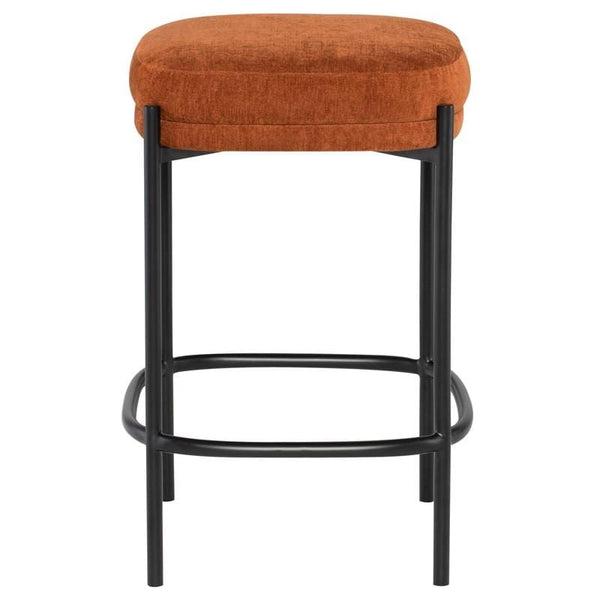 Nuevo Inna Counter Stool - Terra Cotta | Alchemy Fine Home