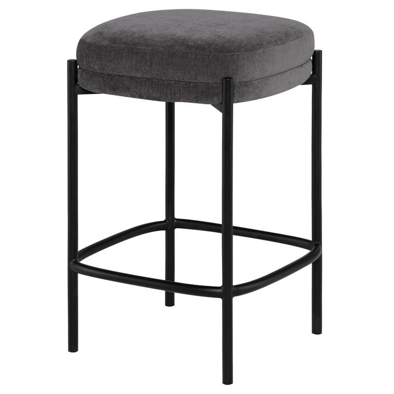 Nuevo Inna Counter Stool - Cement | Alchemy Fine Home
