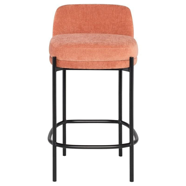 Nuevo Inna Counter Stool - Nectarine w/ Seat Top | Alchemy Fine Home