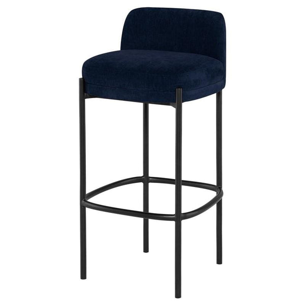 Nuevo Inna Counter Stool - Twilight w/ Seat Top | Alchemy Fine Home