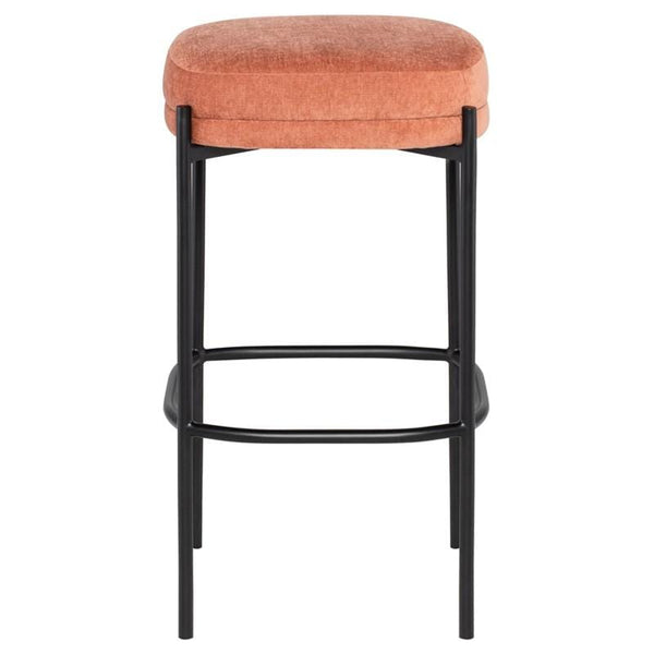 Nuevo Inna Bar Stool - Nectarine | Alchemy Fine Home