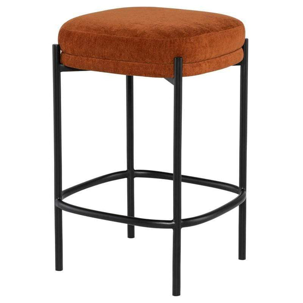 Nuevo Inna Bar Stool - Terra Cotta | Alchemy Fine Home