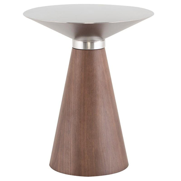Nuevo Nuevo Iris Side Table - Silver