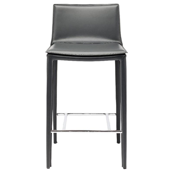 Nuevo Palma Counter Stool - Dark Grey | Alchemy Fine Home