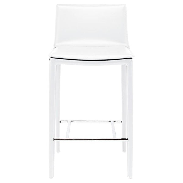Nuevo Palma Counter Stool - White | Alchemy Fine Home