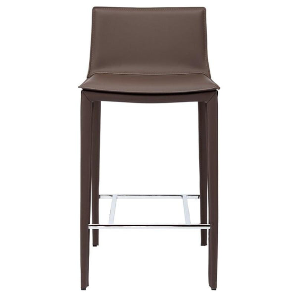 Nuevo Palma Counter Stool - Mink | Alchemy Fine Home