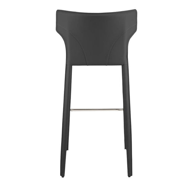Nuevo Wayne Counter Stool - Dark Grey | Alchemy Fine Home