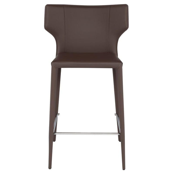 Nuevo Wayne Counter Stool - Mink | Alchemy Fine Home