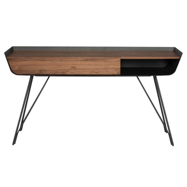 Nuevo Nuevo Noori Console Table - Walnut HGNE153