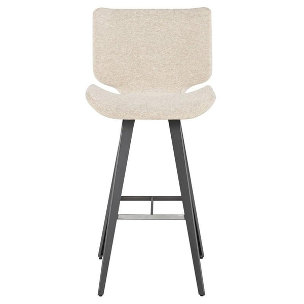 Nuevo Astra Bar Stool - Shell | Alchemy Fine Home