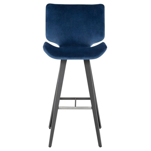 Nuevo Astra Bar Stool - Petrol | Alchemy Fine Home