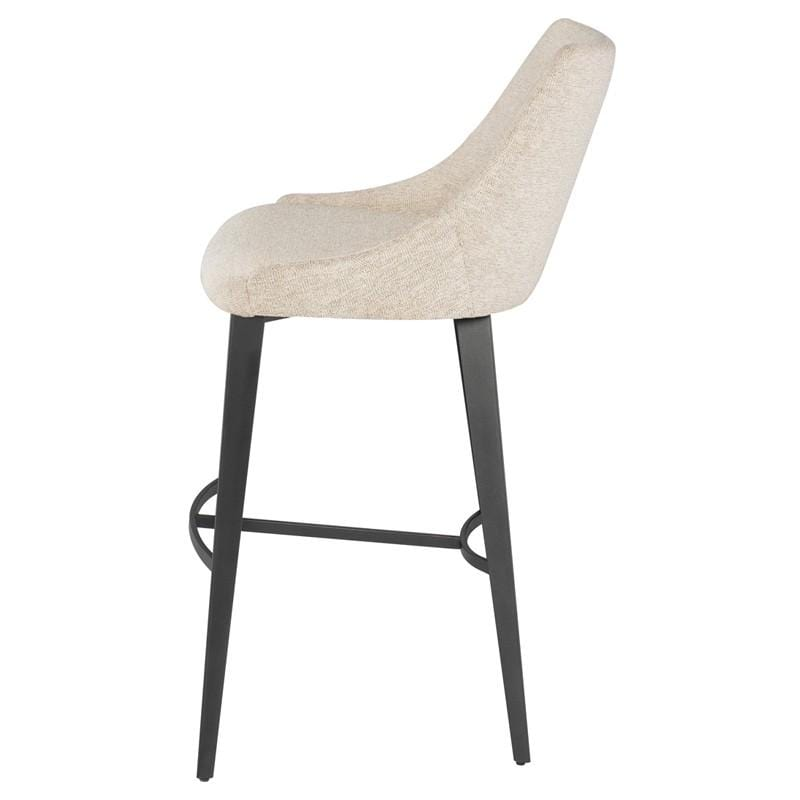 Nuevo Renee Bar Stool - Shell | Alchemy Fine Home