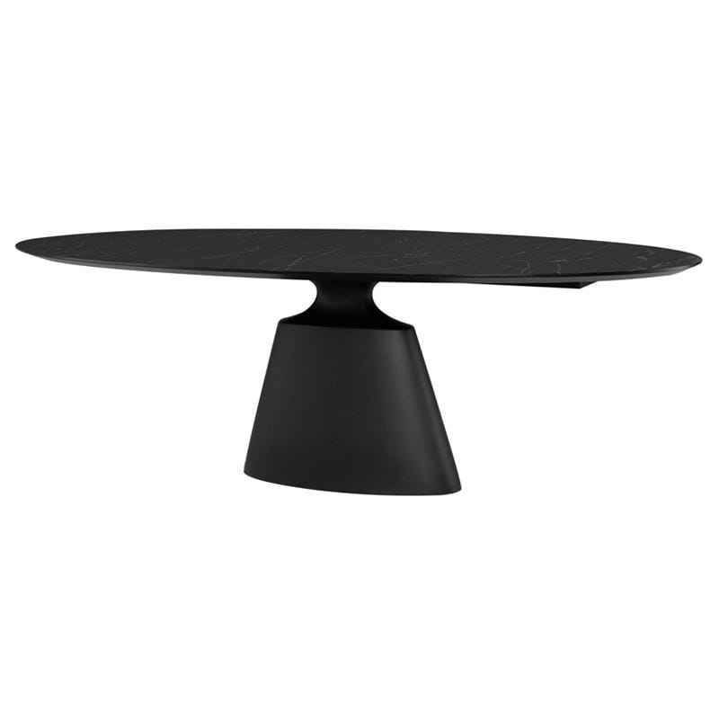 Nuevo Taji Dining Table - Black | Alchemy Fine Home