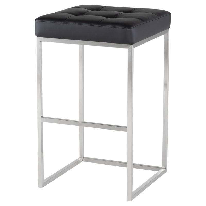 Nuevo Chi Bar Stool - Black | Alchemy Fine Home