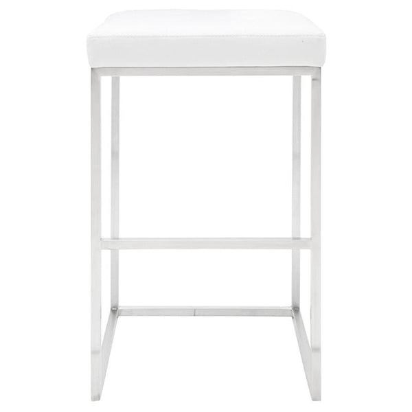 Nuevo Chi Bar Stool - White | Alchemy Fine Home