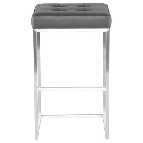 Nuevo Chi Bar Stool - Grey | Alchemy Fine Home