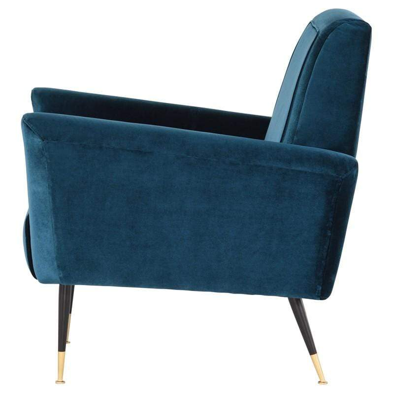 Nuevo Victor Occasional Chair - Midnight Blue | Alchemy Fine Home