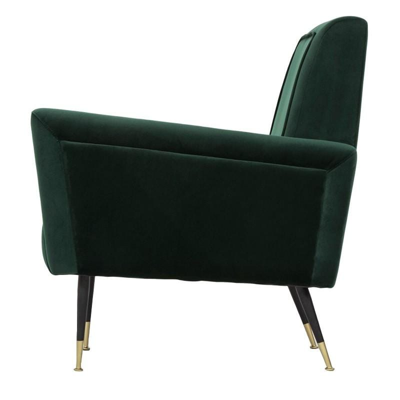 Nuevo Victor Occasional Chair - Emerald Green | Alchemy Fine Home