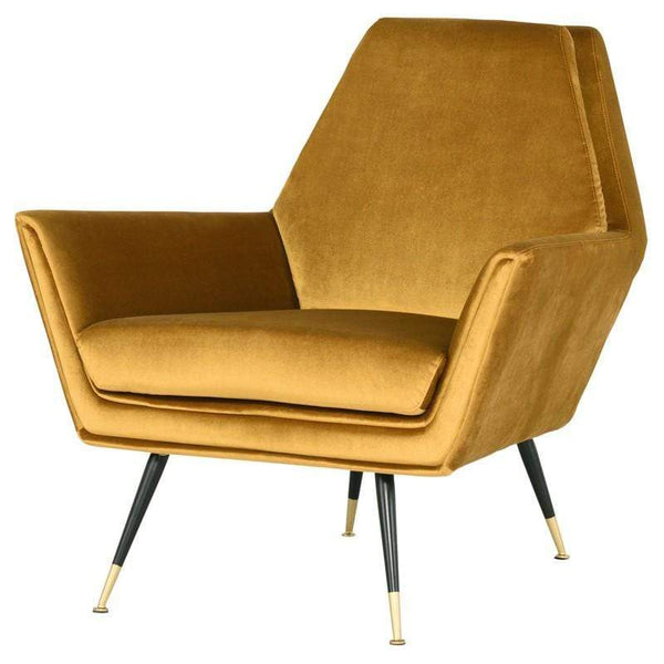 Nuevo Vanessa Occasional Chair - Mustard | Alchemy Fine Home