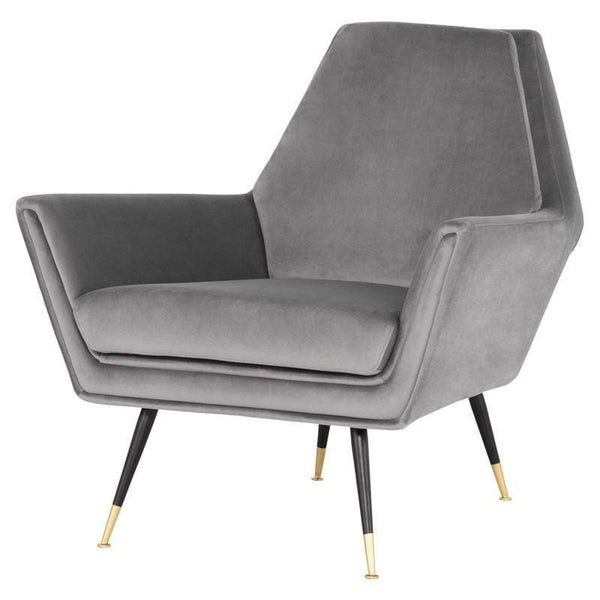 Nuevo Vanessa Occasional Chair - Smoke Grey | Alchemy Fine Home