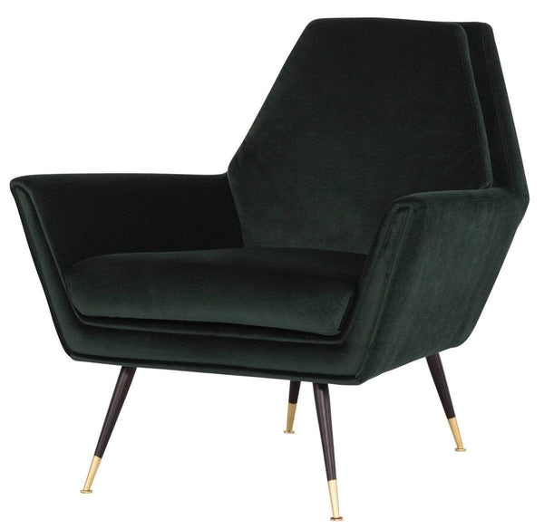 Nuevo Vanessa Occasional Chair - Emerald Green | Alchemy Fine Home