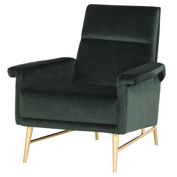 Nuevo Mathise Occasional Chair - Emerald Green | Alchemy Fine Home