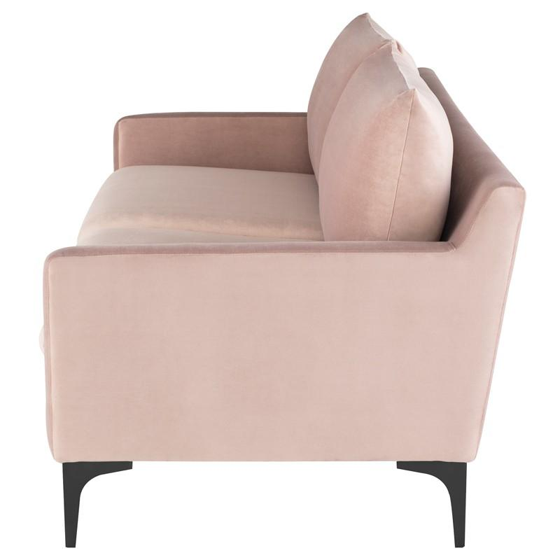 Nuevo Anders Triple Seat Sofa - Blush | Alchemy Fine Home