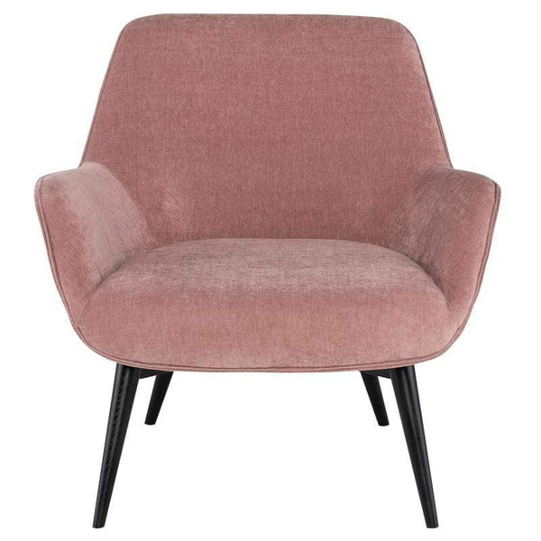 Nuevo Gretchen Occasional Chair - Dusty Rose | Alchemy Fine Home