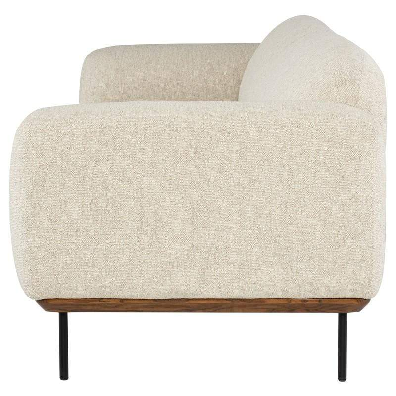 Nuevo Benson Triple Seat Sofa - Shell | Alchemy Fine Home