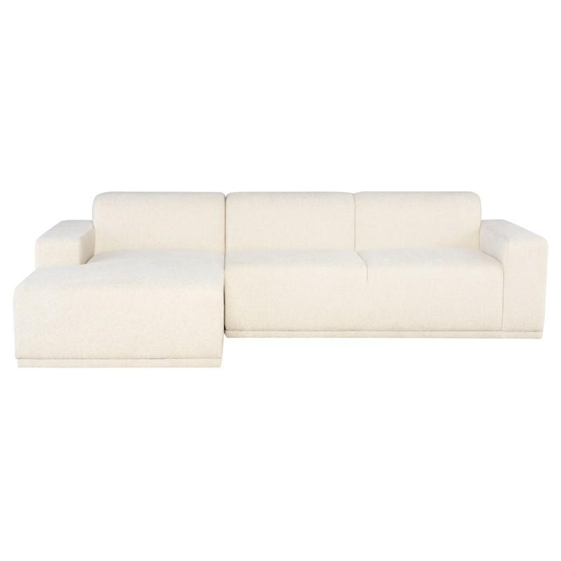 Nuevo Leo Sectional Sofa - Coconut | Alchemy Fine Home