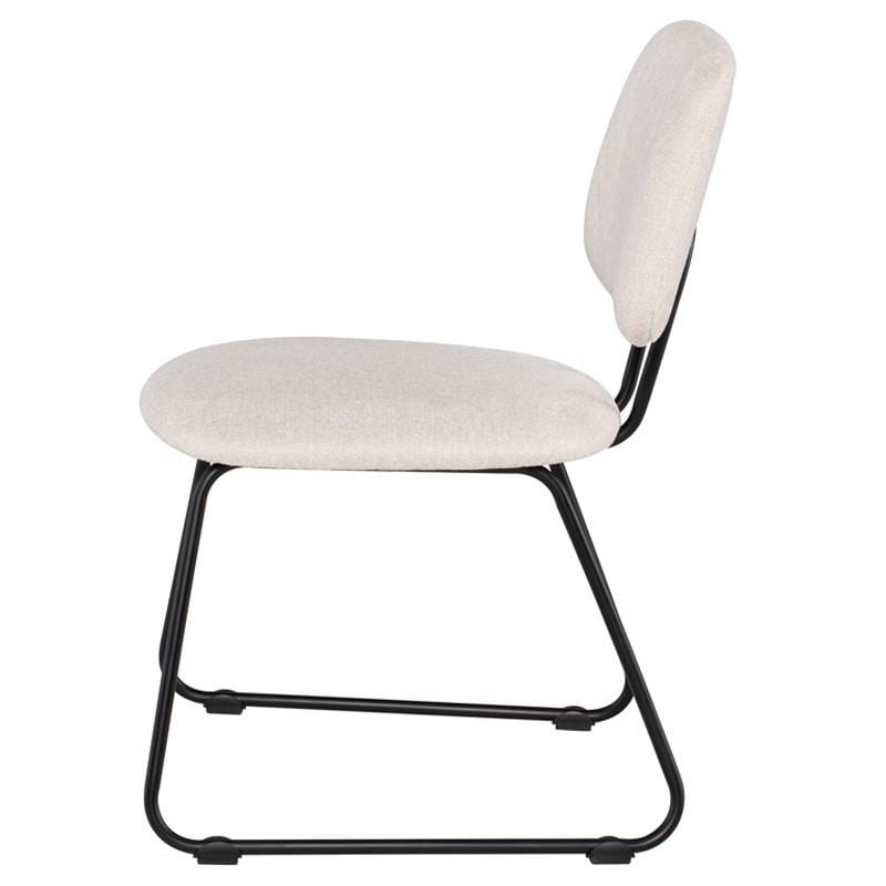 Nuevo Ofelia Dining Chair - Parchment | Alchemy Fine Home