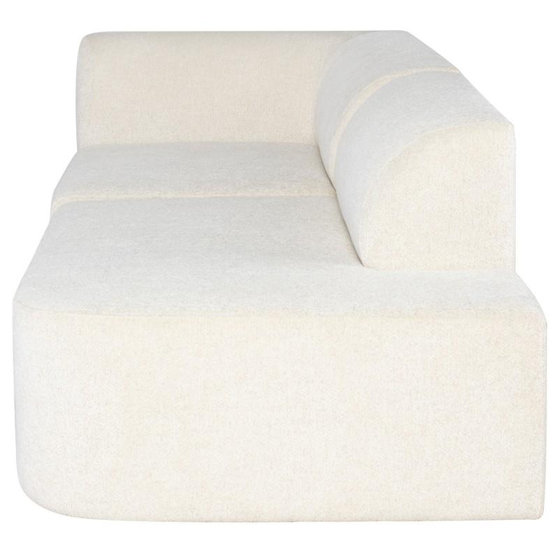 Nuevo Isla Triple Seat Sofa - Coconut | Alchemy Fine Home