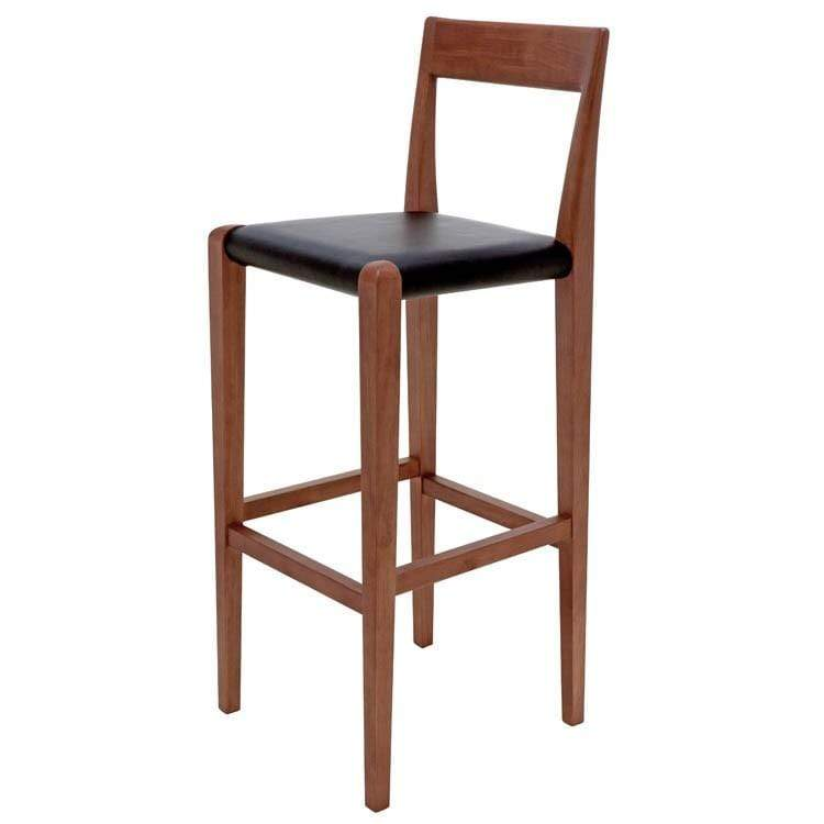 Nuevo Ameri Bar Stool - Black | Alchemy Fine Home