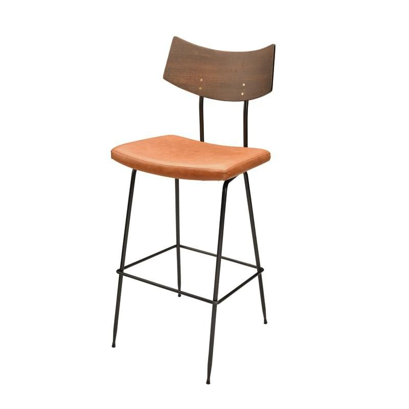 Nuevo Soli Bar Stool - Caramel | Alchemy Fine Home