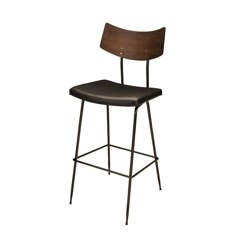 Nuevo Soli Counter Stool - Black | Alchemy Fine Home