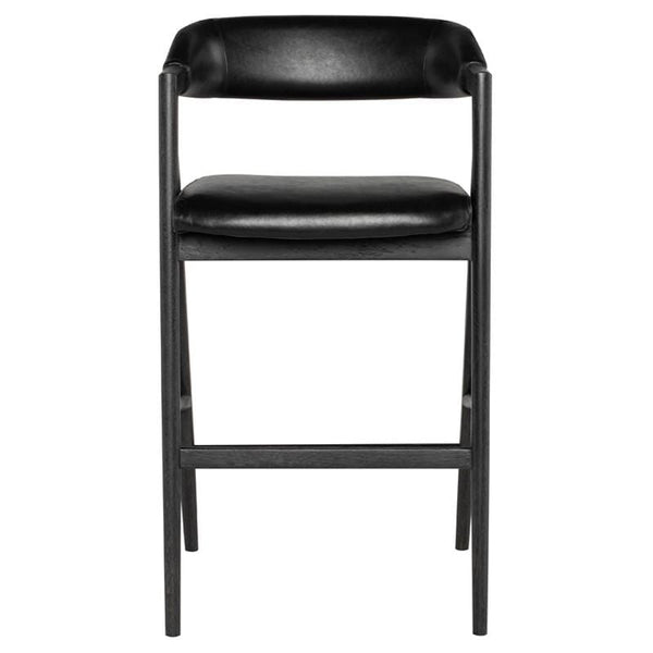 Nuevo Anita Bar Stool - Raven | Alchemy Fine Home