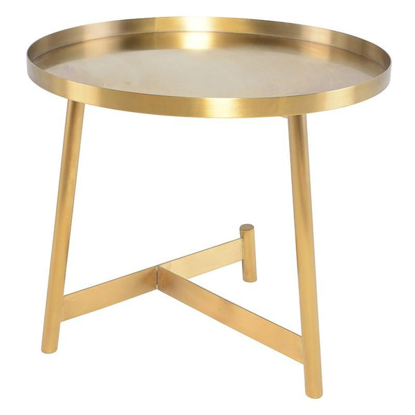 Nuevo Nuevo Landon Side Table Tall - Gold HGSX478