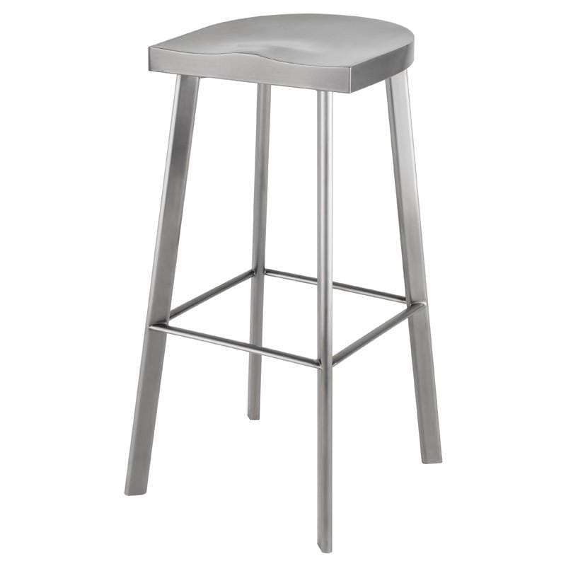 Nuevo Icon Bar Stool - Graphite | Alchemy Fine Home