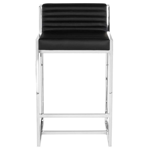 Nuevo Zola Counter Stool - Black | Alchemy Fine Home