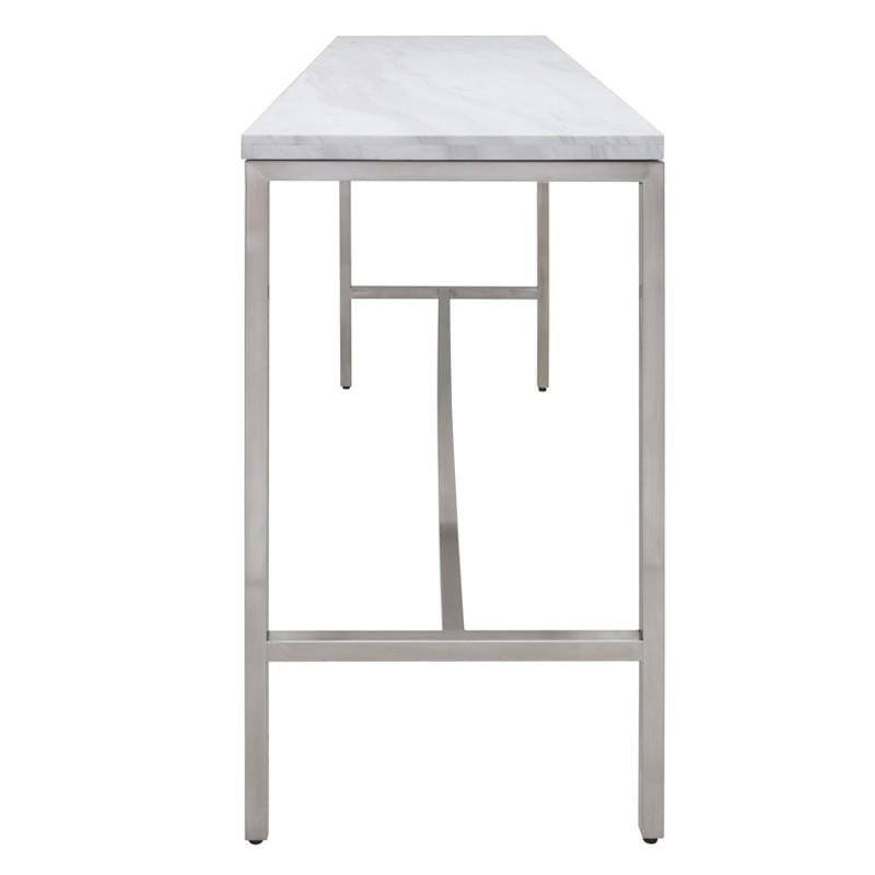 Nuevo Verona Bar Table - White | Alchemy Fine Home