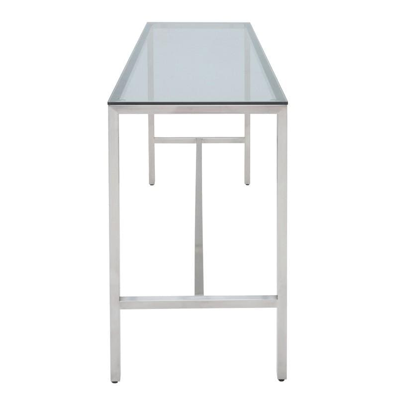 Nuevo Verona Bar Table - Glass | Alchemy Fine Home